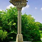 Village Sign - Linton, Derbyshire by Rod Johnson