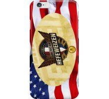 VINTAGE AMERICAN BEER. iPhone Case/Skin