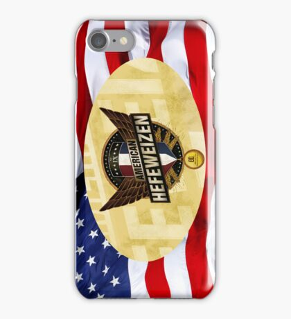 VINTAGE AMERICAN BEER. iPhone Case/Skin