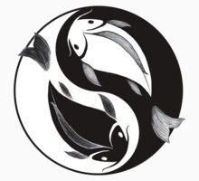 Nishikigoi - Yin and Yang Kids Clothes