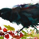 Christmas Crow by Sally Griffin