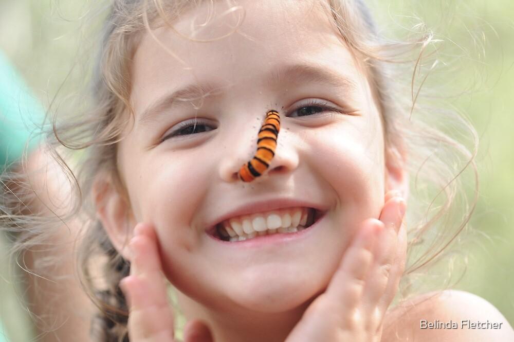 Caterpillar nose by Belinda Fletcher