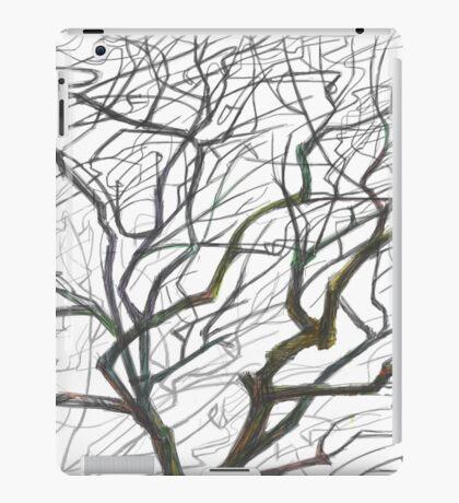 Tree B&W iPad Case/Skin