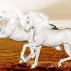The Andalusians'... by Valerie Anne Kelly