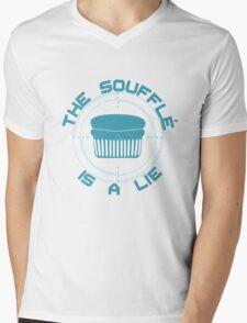 The Soufflé is a Lie Mens V-Neck T-Shirt