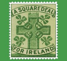 Ireland Square Deal Postage Stamp by TravelShop