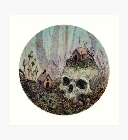 Little Forest Spirits  Art Print