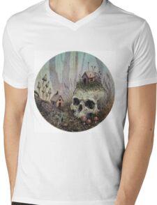 Little Forest Spirits  Mens V-Neck T-Shirt