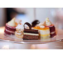 sweet plate Photographic Print