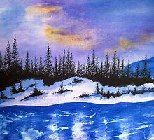 Canadian wilderness by Yorkspalette