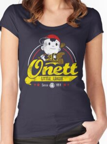 Onett little league Women's Fitted Scoop T-Shirt