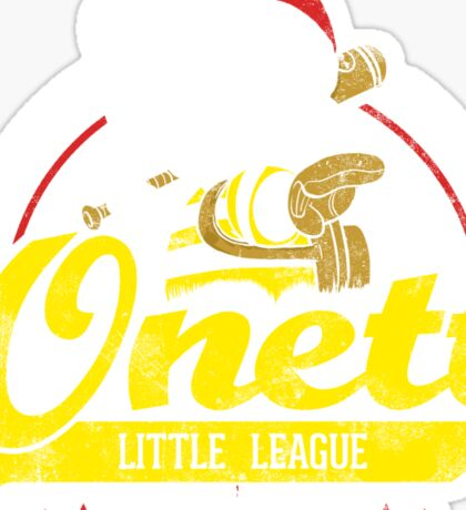 Onett little league Sticker