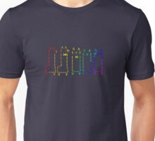 Rainbow Alpacas Unisex T-Shirt