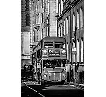 London Red Bus Photographic Print