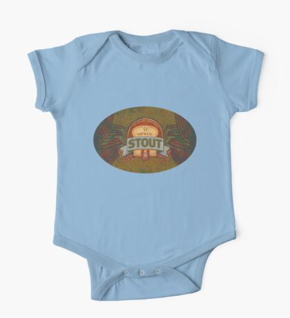 OATMEAL BEER LABEL One Piece - Short Sleeve