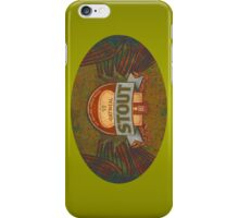 OATMEAL BEER LABEL iPhone Case/Skin