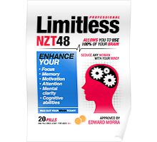 Limitless Pills - NZT 48 (2nd Version) Poster