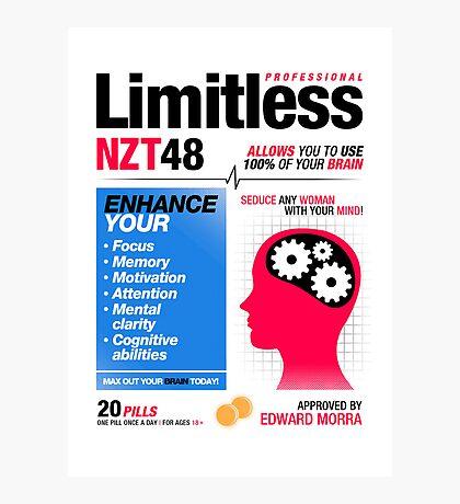 Limitless Pills - NZT 48 (2nd Version) Photographic Print
