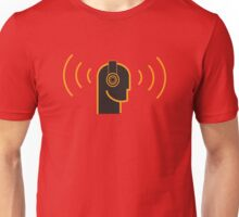 Loud Music - DJ Headphones Unisex T-Shirt
