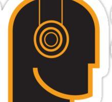 Loud Music - DJ Headphones Sticker