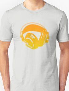 Graffiti Headphones Unisex T-Shirt