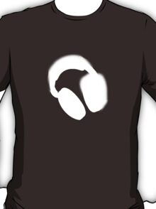 Spray Paint Headphones T-Shirt