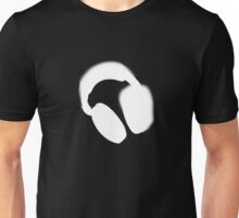 Spray Paint Headphones Unisex T-Shirt