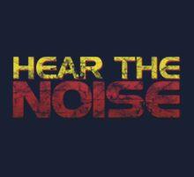 Hear The Noise One Piece - Short Sleeve