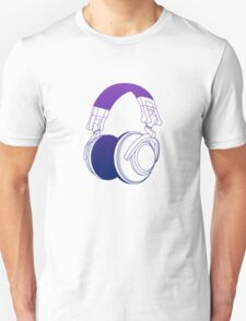 Vector Headphones Unisex T-Shirt