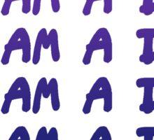 I Am A DJ Sticker