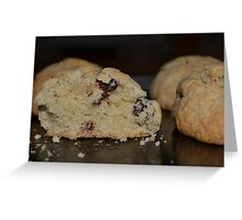 Fresh Rock Cakes Greeting Card