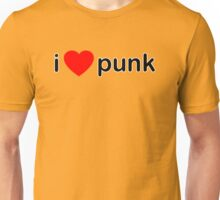 I Love Punk Unisex T-Shirt
