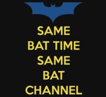 Same Bat Time, Same Bat Channel by Zapdosman