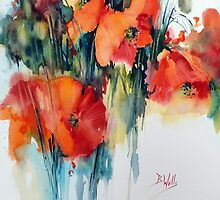 Poppy by Bev  Wells
