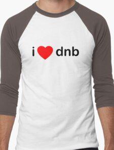 I Love DNB Men's Baseball ¾ T-Shirt