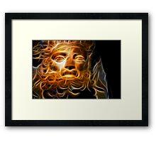 Zeus Framed Print