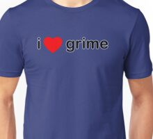 I Love Grime Unisex T-Shirt