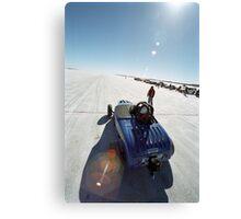 Ford Hot Rod on the salt 1 Canvas Print
