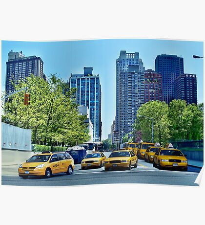 New York - 62nd Street Poster