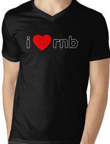 I Love RNB Mens V-Neck T-Shirt