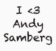 Andy Samberg T by YasLalu