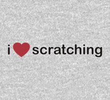 I Love Scratching Baby Tee