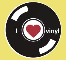 I Love Vinyl Kids Tee