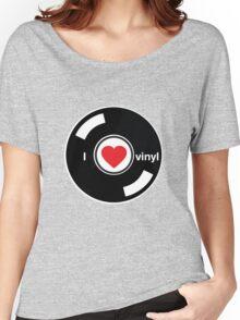 I Love Vinyl Women's Relaxed Fit T-Shirt