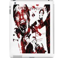 American Psycho, Patrick Bateman 'Collage' effect iPad Case/Skin