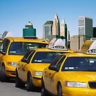 New York - Yellow cabs by harietteh