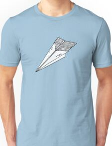 Old school paper plane Unisex T-Shirt