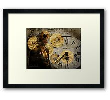 the time thief Framed Print
