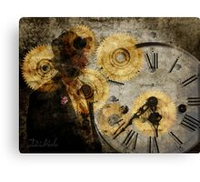 the time thief Canvas Print