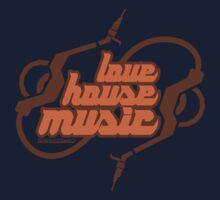 Love House Music One Piece - Short Sleeve